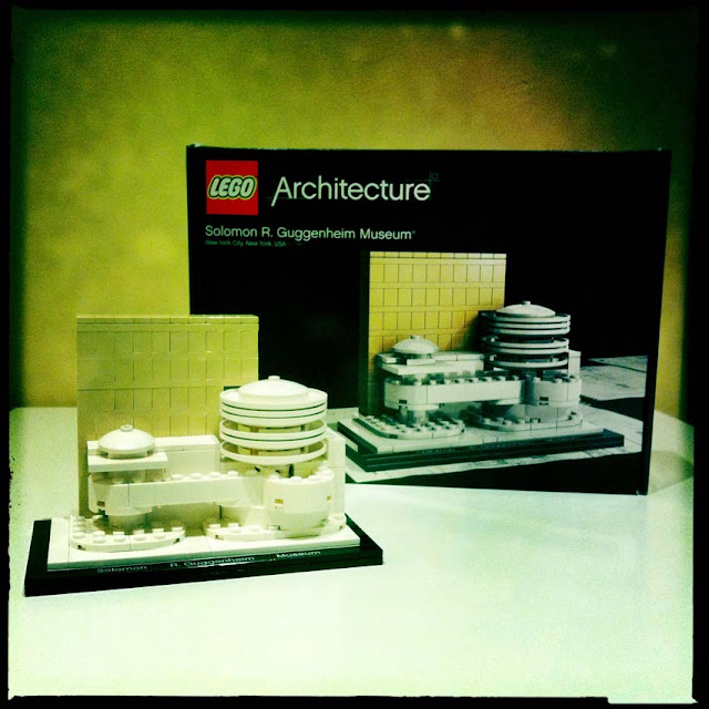 Green Pear Diaries - Lego architecture Guggenheim Museum
