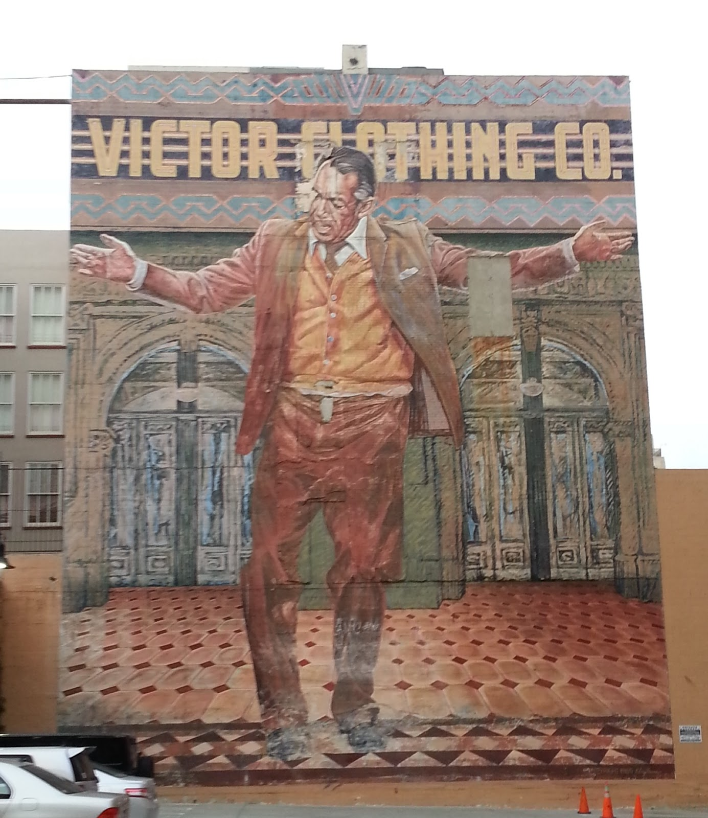 Public art for Anthony quinn mural