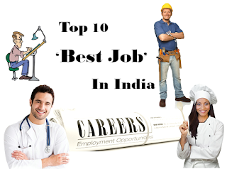 Top 10 Best Jobs In India