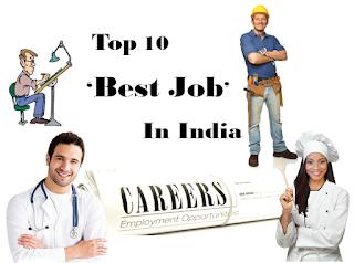 Top 10 Best Jobs In India