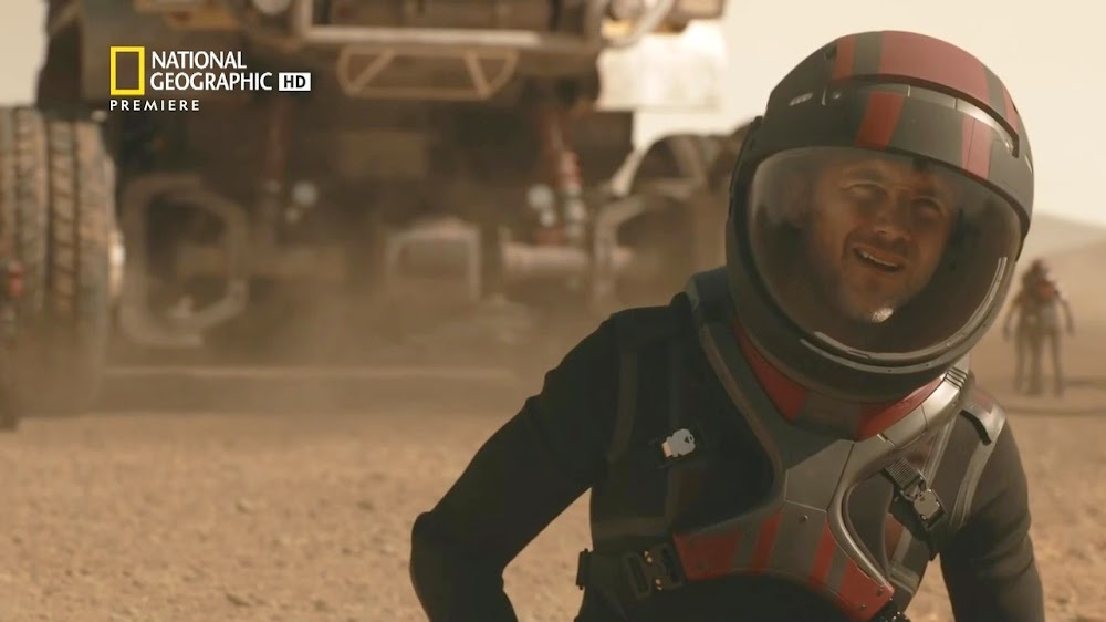National Geographic MARS - episode 5, season 2 (Lukrum commander)