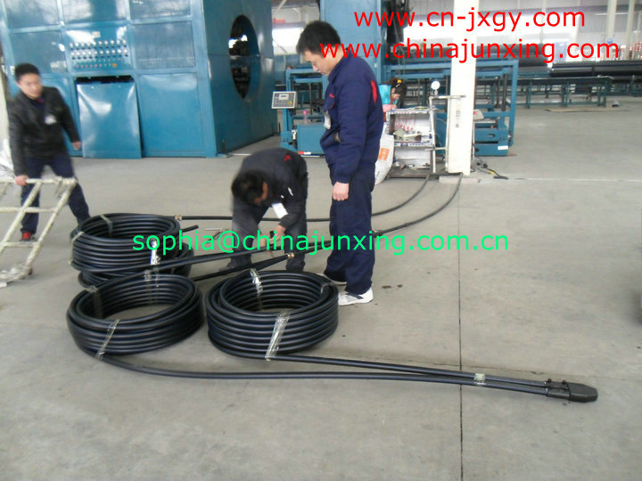 Tianjin Junxing Pipe Group CO ,Ltd : hdpe pipe production