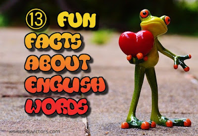 CBSE Class 8/9/10/11/12: ⑬ Fun Facts about English Words (#englishgrammar) (#cbsenotes)