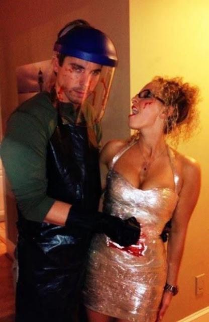 Dexter and Victim Couples Halloween Costume