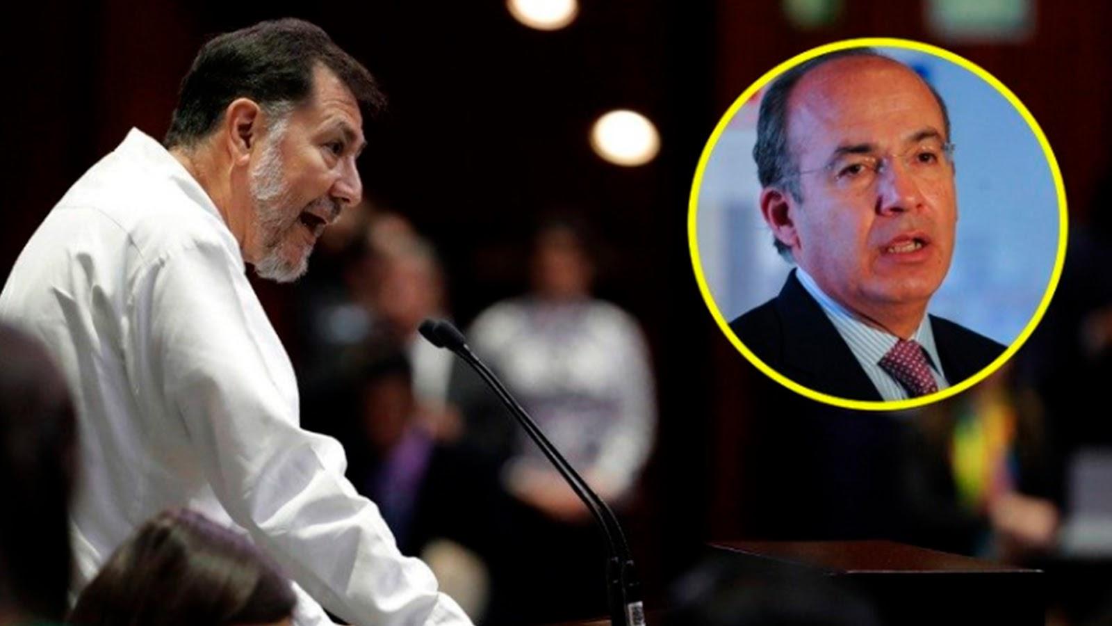 Noroña reta a Calderón a debatir sobre energía, para que se anime le promete botella