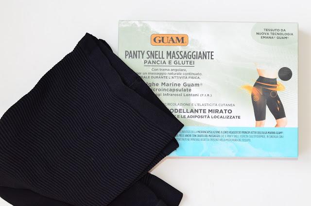 Guam короткие массажные леггинсы GUAM SNELL как похудеть без диет избавится от целлюлита