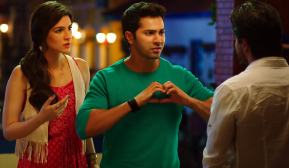 Varun Dhawan and Kriti Sanon in Rohit Shetty's Dilwale