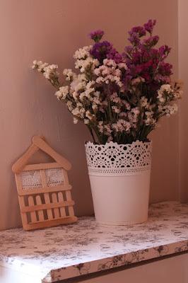 kwiaty zimą, suszone kwiaty, poczuć wiosnę