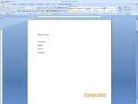 Cara Mudah Membuat Link Content Ms Word