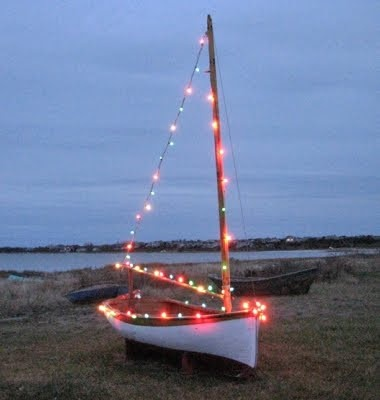 Traditional Greek Christmas boat
