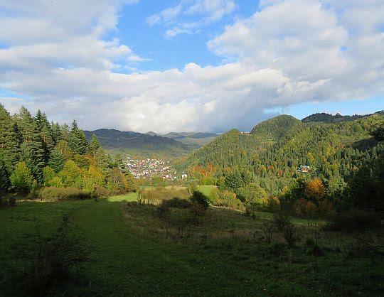 Szczawnica i dolina Grajcarka.