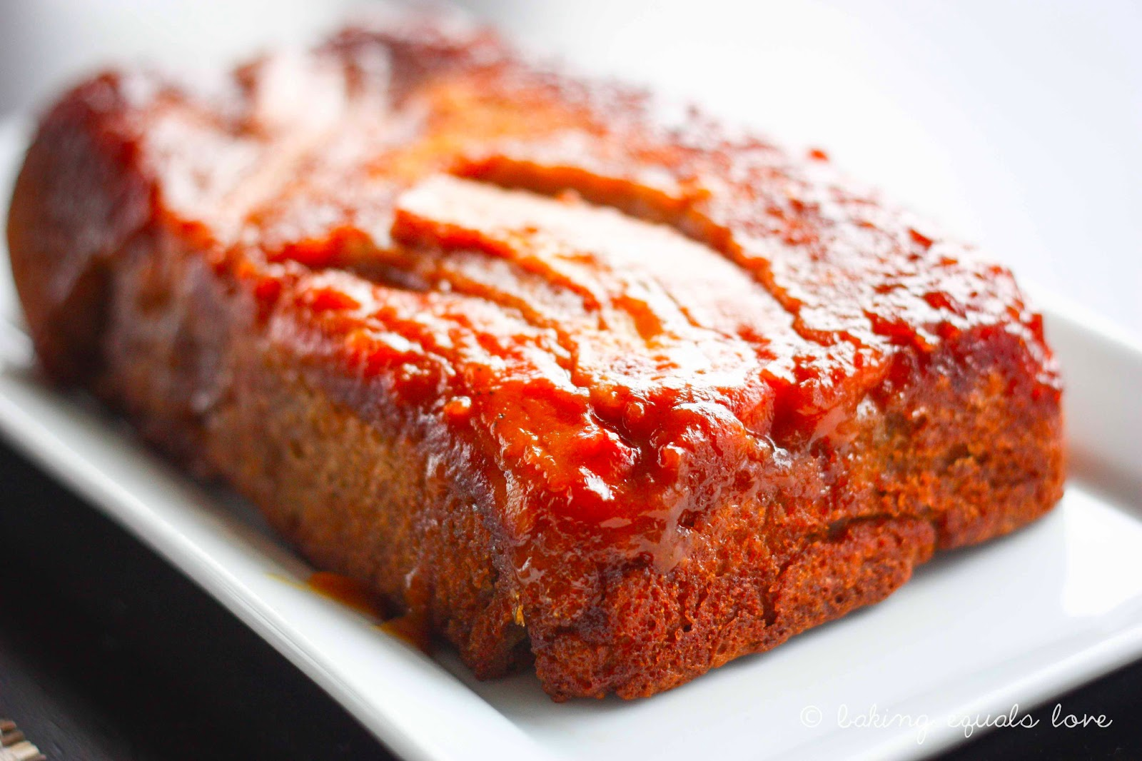 baking = love: Caramelized Banana & Bourbon Loaf and the
