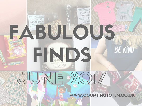 Fabulous Finds for June 2017