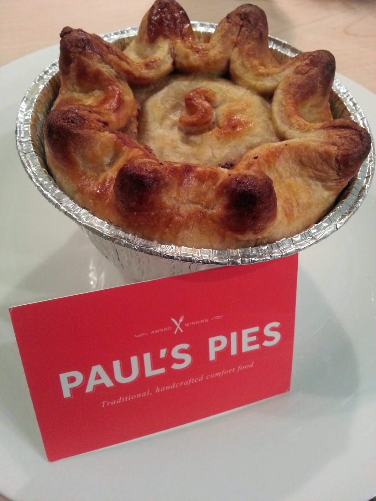 Currently Britain's Best Pie - Paul's Pies