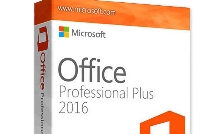 MICROSOFT OFFICE PROFESSSIONAL PLUS 2016 (32&64bit)