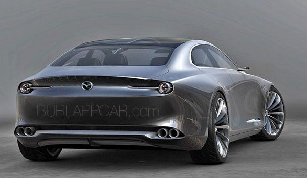 Burlappcar: Mazda Vision Coupe concept