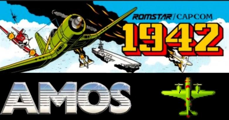 Indie Retro News: 1942 Mini - A Shoot em up classic, mini remade in Amiga  AMOS