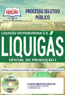 Download Apostila Concurso Liquigás 2018 PDF