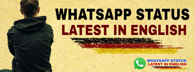 Whatsapp status latest in english