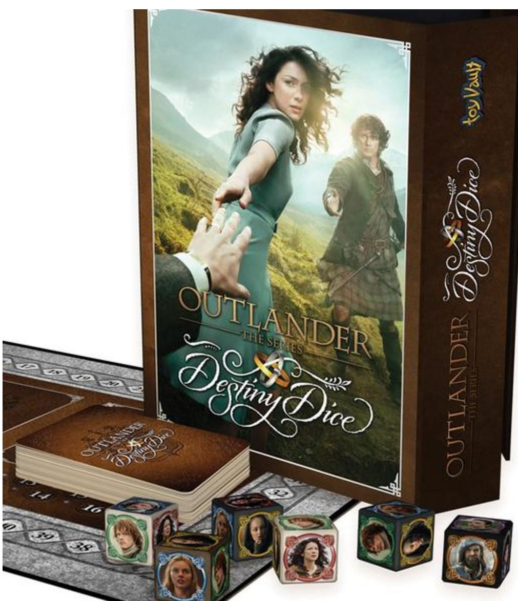 ... Destiny Dice. Listeners of this show may use exclusive promo code  OUTLANDERCAST to receive 10% off their entire purchase in their online  store.