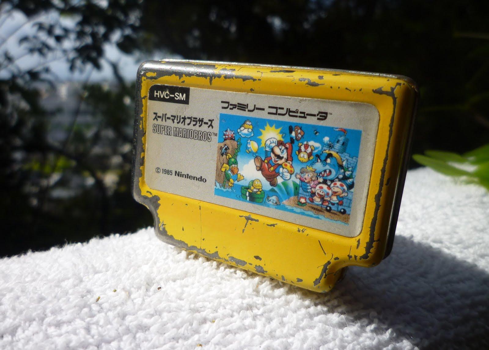 Famicomblog Requiem For My Super Mario Bros Famicom Cart Keychain