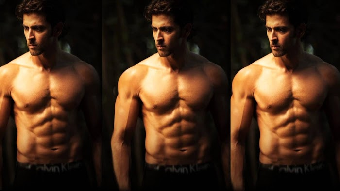 Hrithik Roshan Hottest Six pack Photos-Sexy abs show