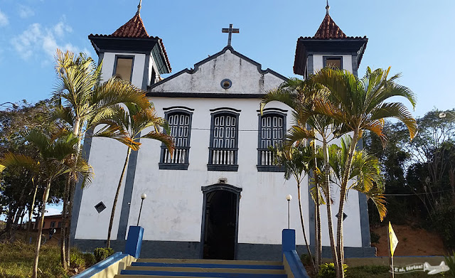 Igreja Matriz de Nossa Senhora da Conceição, Ipoema, MG, Estrada Real, Caminho dos Diamantes