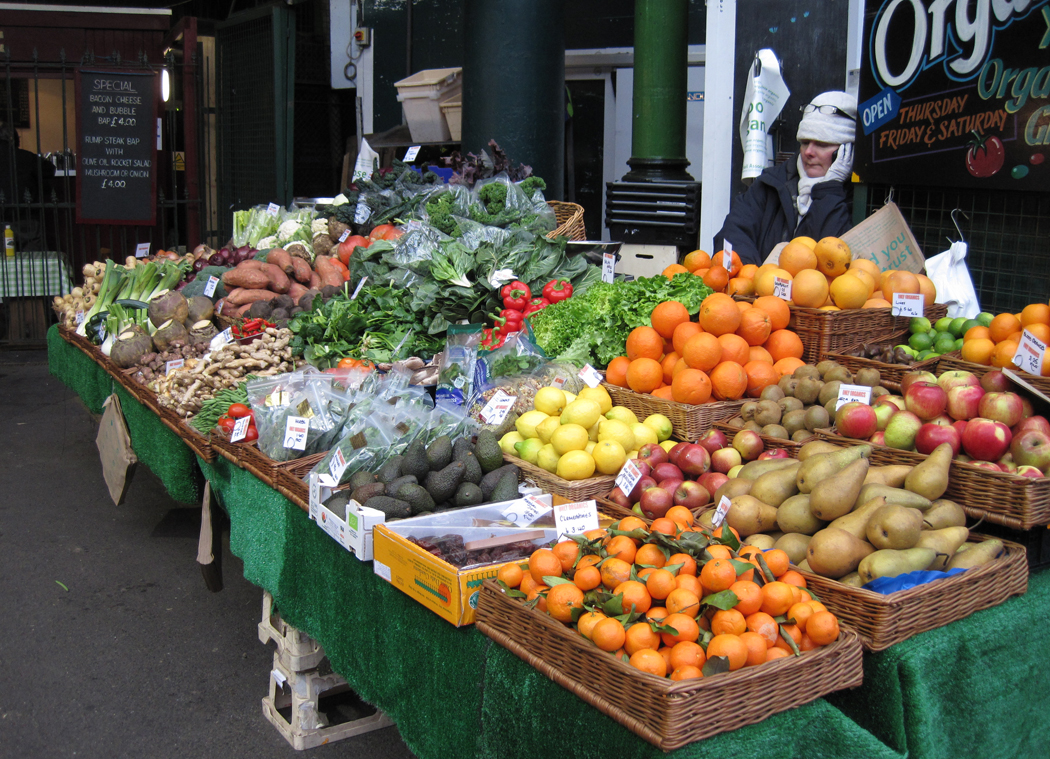 Borough Market Fruit and Veg