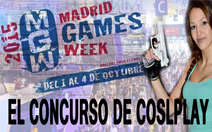 cosplay madrid games week 2015