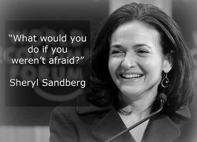 Sheryl Sandberg Quoted