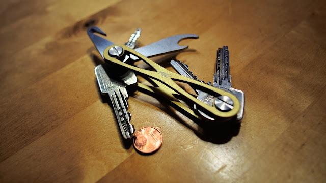 Das Schweizer-Armee-Messer unter den Schlüsselorganizern ist der Mokey.