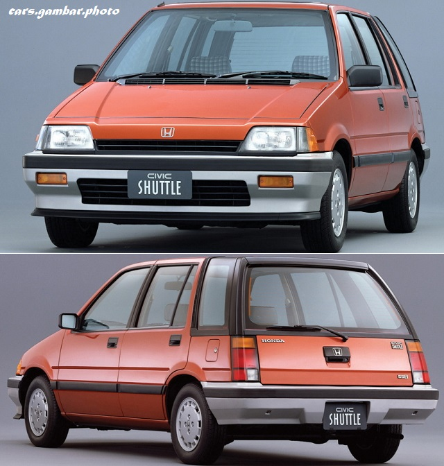Honda Civic Shuttle 55i 1983-85 red