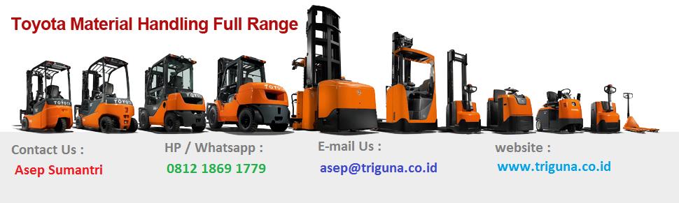 Jual Forklift Second Sumatra