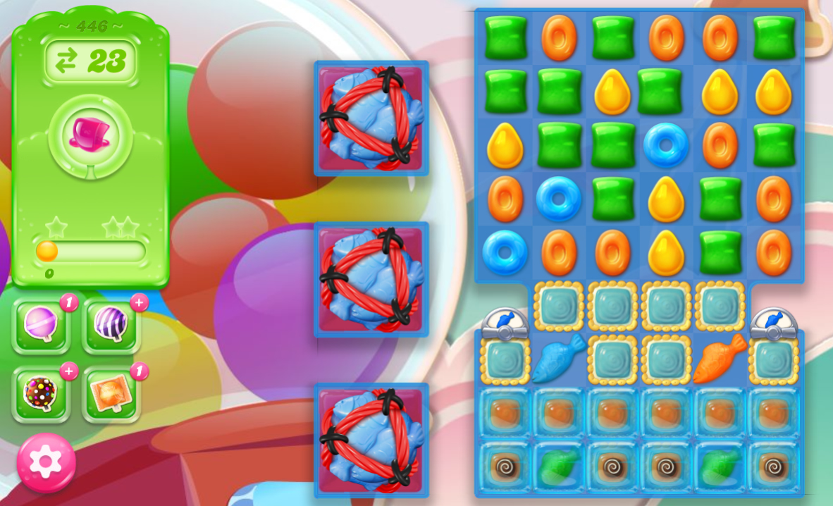 Candy Crush Jelly Saga 446