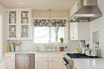 54 Inspirasi Desain Dapur Mungil Cantik dan Bergaya Modern Untuk Dapur Sempit