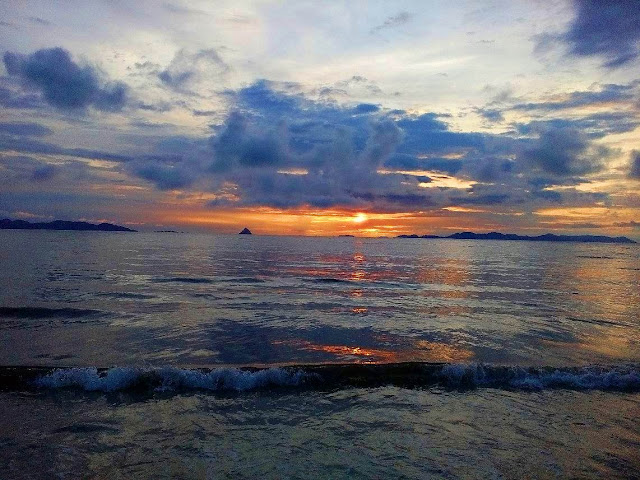 Sunset di Pantai Bosur
