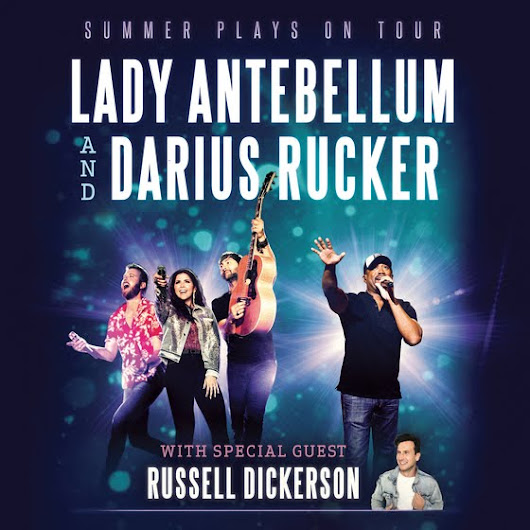 Lady A and Darius Tour in 2018