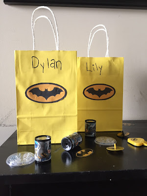batman treat bags