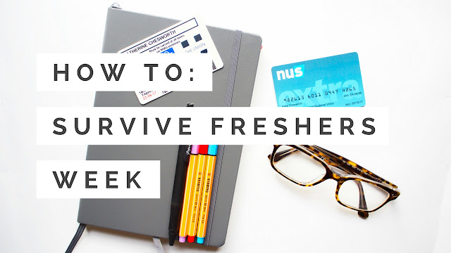 How To Survive Fresher's Week