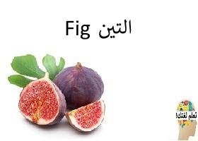 التين : Fig