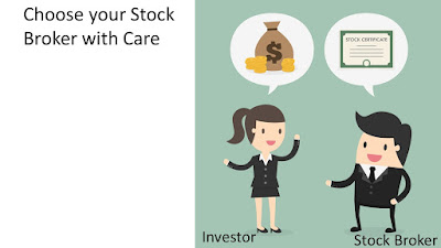 Stockbroker and Lady Investor