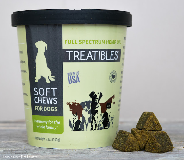 Treatibles full spectrum hemp oil soft chews for dogs