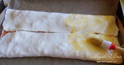 Preparare placinta cu sunca-etapa3