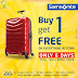Samsonite Kuwait - Buy 1 and get 1 FREE