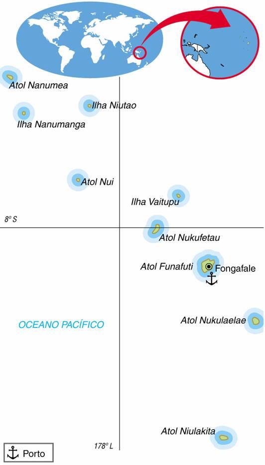 Tuvalu (24 km²)