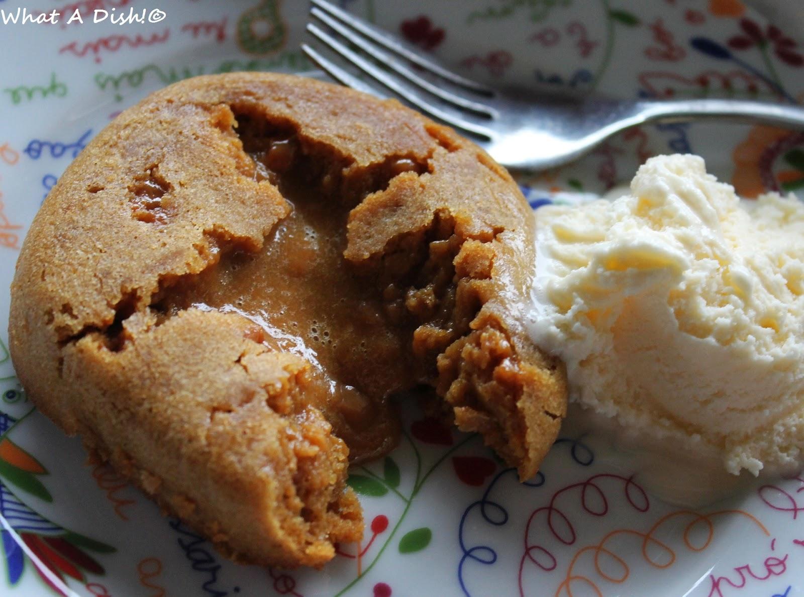 What A Dish!: Dulce de Leche Molten Lava Cakes