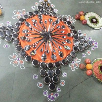 Creative Rangolis