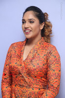 Actress Mumtaz Sorcar Stills in Short Dress at Guru Movie Success meet  0069.JPG