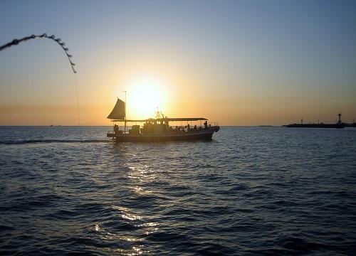 関西の船釣りで釣れる 竿とリール 瀬戸内海 船釣り