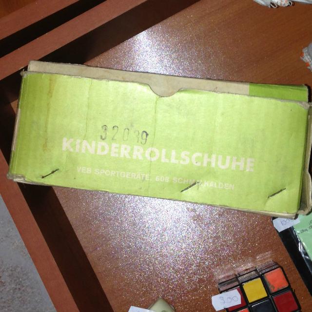 Retro gyűjtőknek fontos, ha az a valami eredeti dobozában van - Kinderrollschuhe